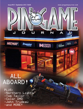 The PinGame Journal - Back Issues Available